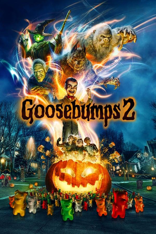 ბურძგლები: ხმაურიანი ჰელოუინი / Goosebumps 2: Haunted Halloween