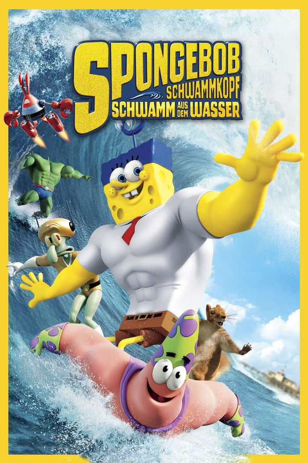 სპანჯბობი / The SpongeBob Movie: Sponge Out of Water